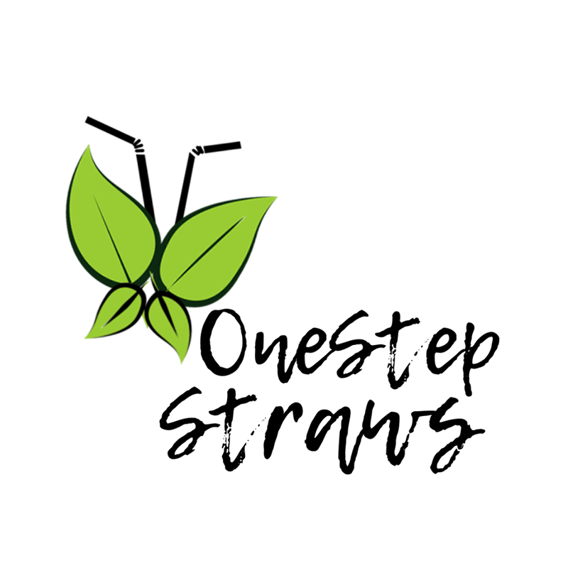 One Step Straws Logo